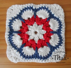 Le granny square african flower octogonale