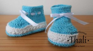 Les bottines au crochet