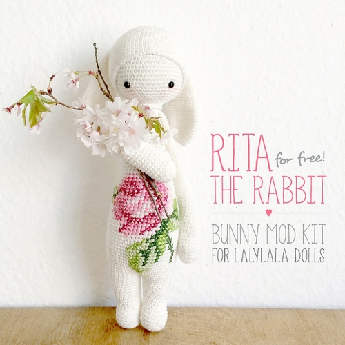 RADA the rat, mouse • lalylala crochet pattern / amigurumi ... | 500x500